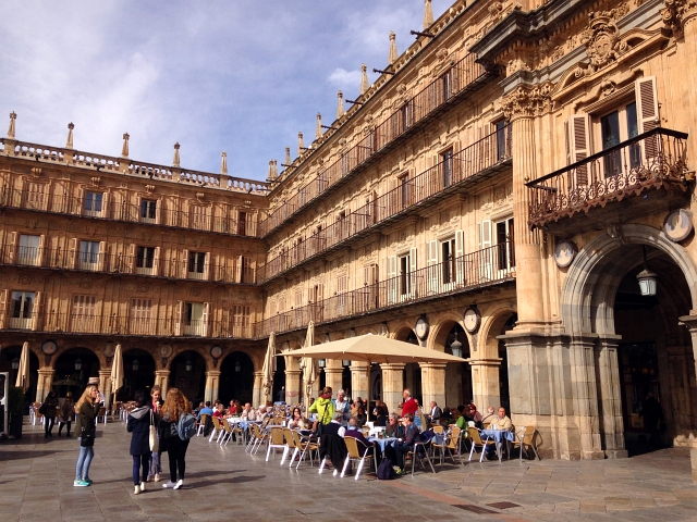 Salamanca Square Sunshine