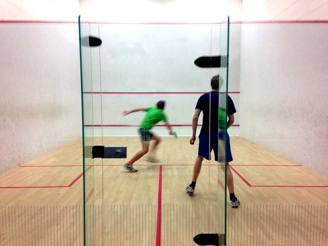 Squash Court Match