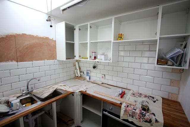 Tile Wall White Brick