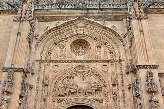 Cathedral Salamanca Front