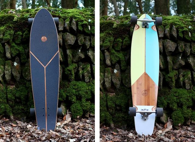 Oxelo Logo Skateboard Longboard
