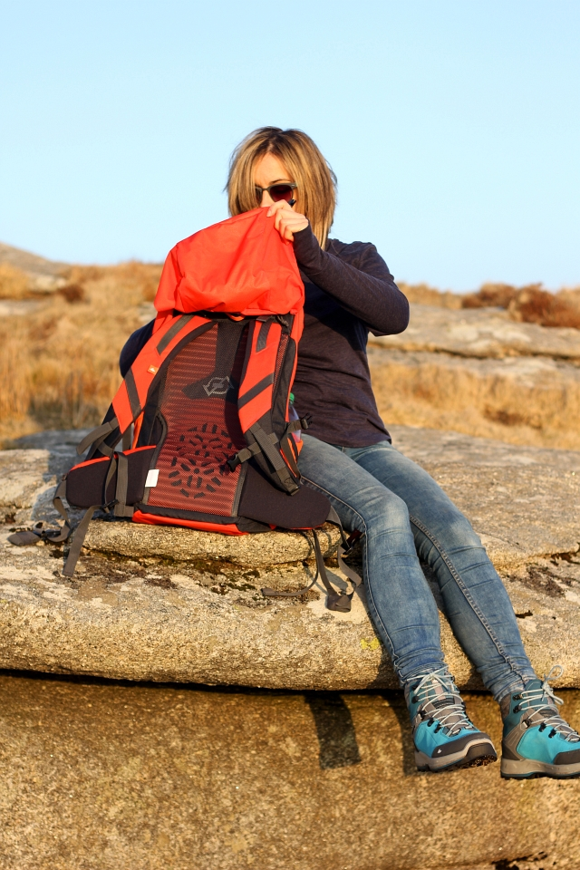 Quechua Forclaz 40 Air Hiking Backpack Bag
