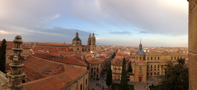 Salamanca Cathedral View