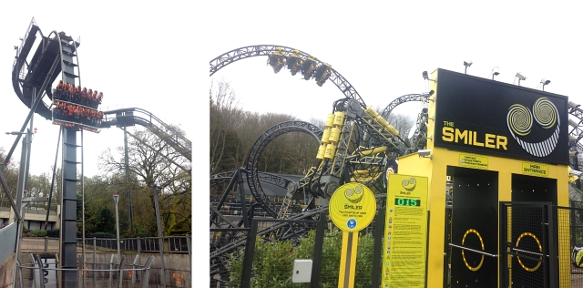 Smiler Alton Towers Oblivion