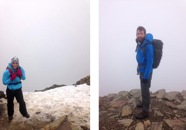 Snowdon Summit People