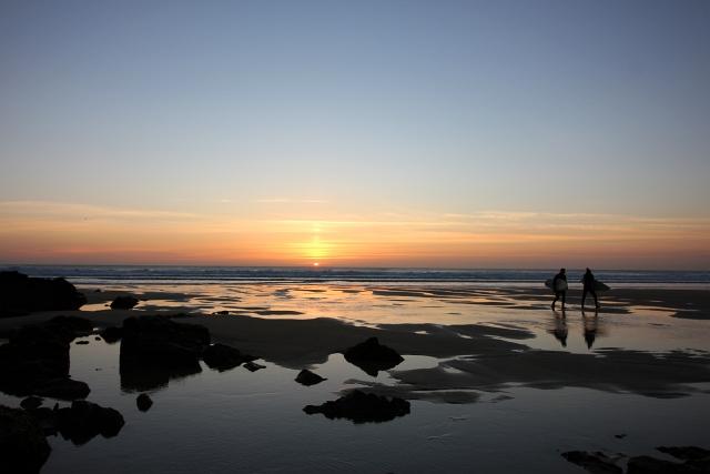 Lazypatch Duvet Beach Sunset