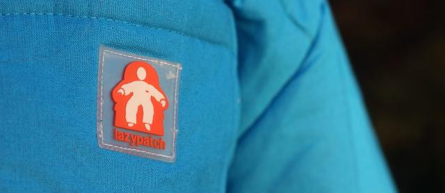 Lazypatch Duvet Suit Logo