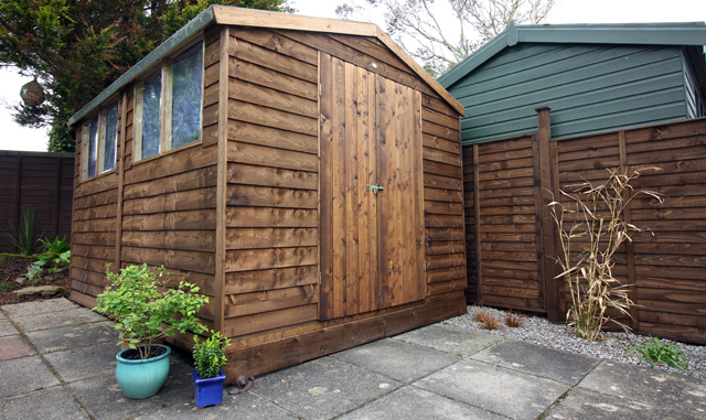 Ronseal Dark Brown Shed and Fence Protector