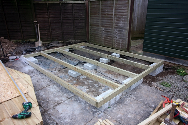Shed Base Frame