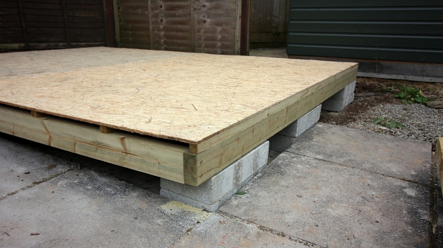 Putting Insulating Shed further 6 Berlin Apartments To Rent furthermore 20 Diy Garage Shelving Ideas likewise Gloucester Quays also External Lintel Supporting Roof. on shed floor