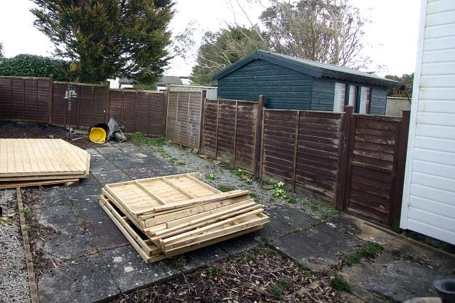 Shed Garden Start