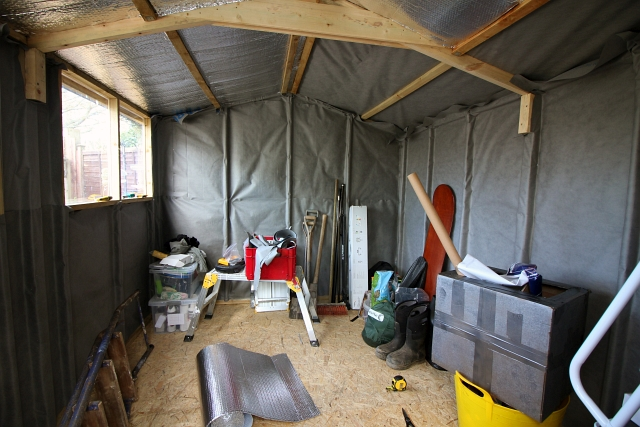 Shed Lining Membrane