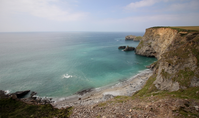 Cornish Cliff Beach