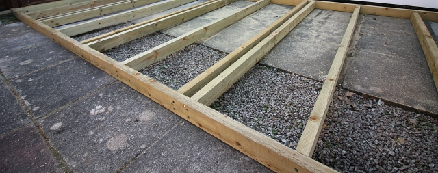 Two Beams Decking Frame