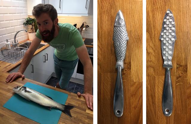 Bass Kitchen Cutting Descaling