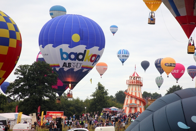 Bristol Hot Air Balloon Fairground