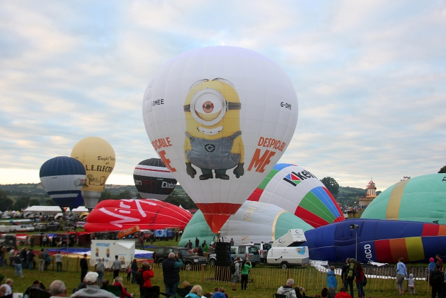 Bristol Hot Air Balloon Minions