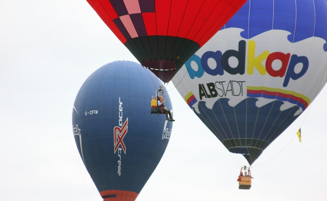 Bristol Hot Air Balloon Without Basket