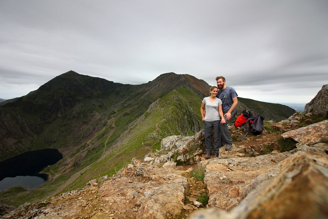 Crib Goch Summit