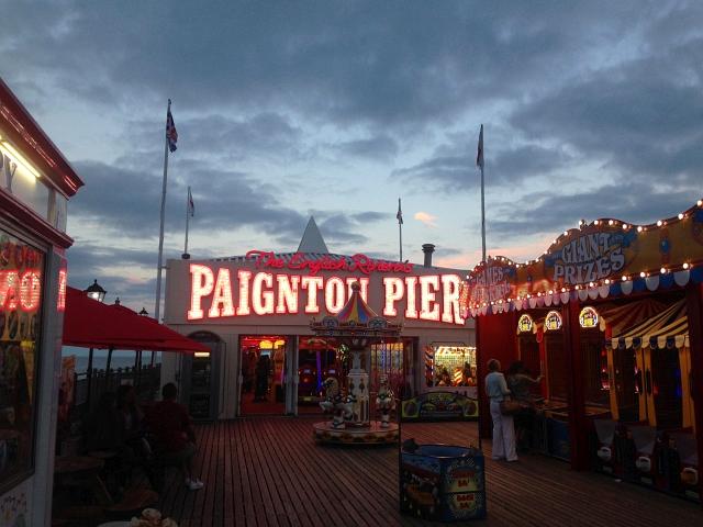 Paignton Pier Sunset