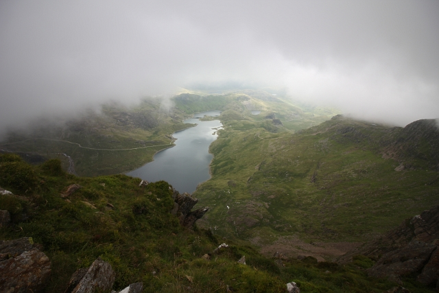 Snowdon Horseshoe Cloud Summit