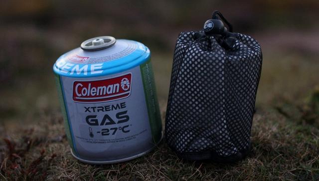 Coleman FyreStorm stove Gas