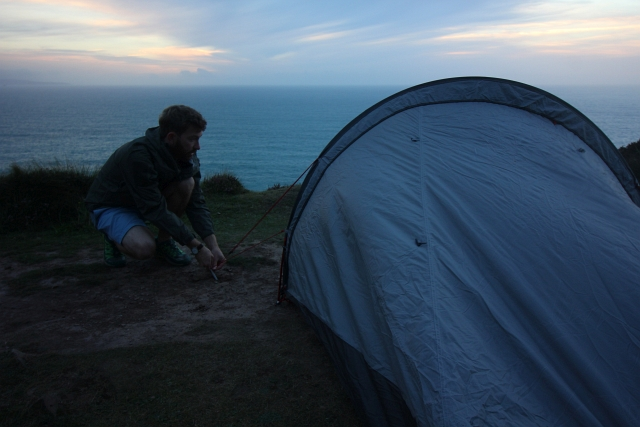 Wild Camping and Kit Reviews on the Cornish Coast