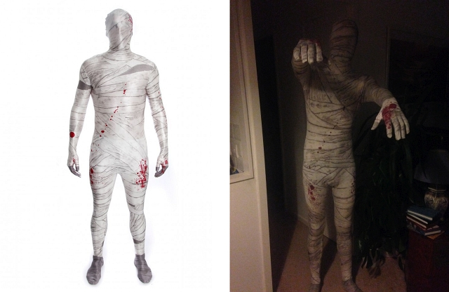 My Mummy Morphsuit and other favourite Halloween Costumes 2017