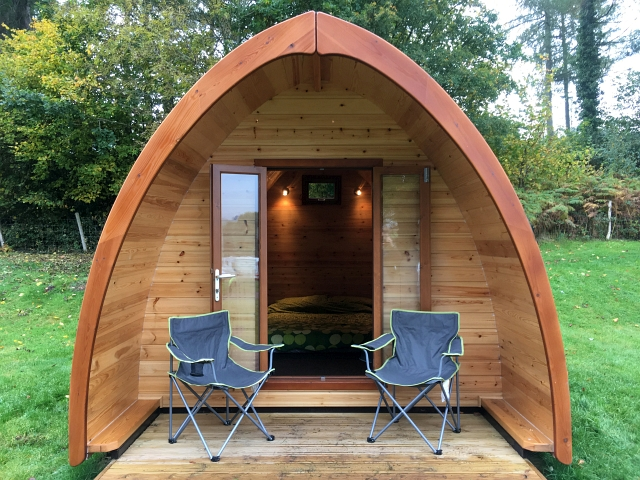 Bracelands Forest of Dean Camping Pods Review