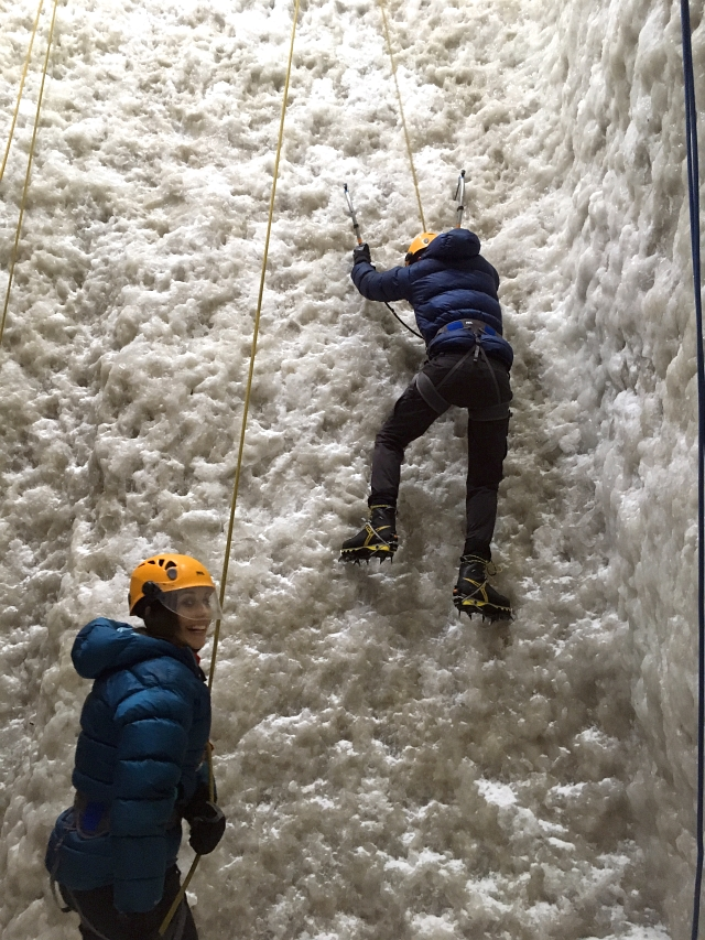 Ice Climbing In The Lake District