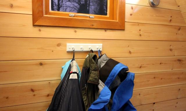 Camping Keswick pod hooks