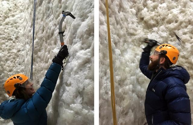 Ice Axe Ice Climbing