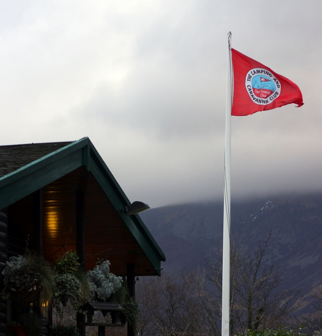 Keswick The Camping and Caravanning Club Flag