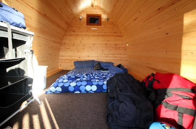 Pod Camping Keswick Caravan Club