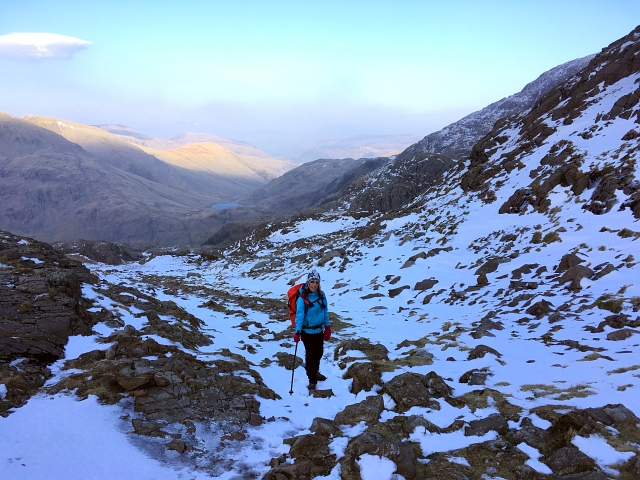 Scafell Pike Snow