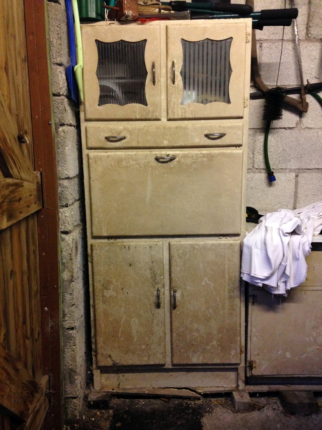 My Vintage 50s or 60s Kitchen Larder Unit or Pantry Renovation
