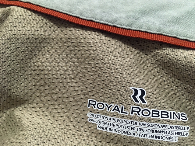 Royal Robbins Shirt Logo