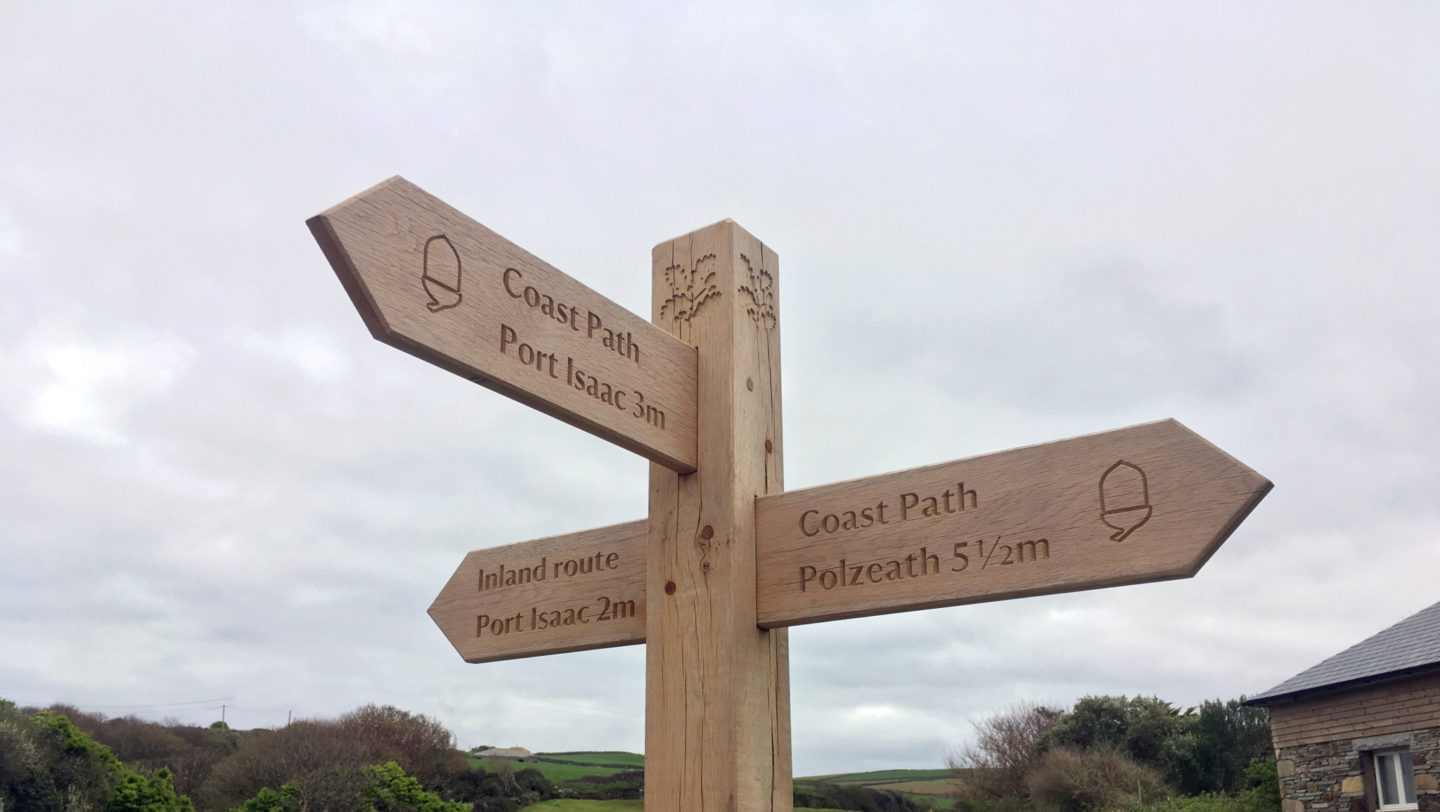 Long Distance Walking the North Coast of Cornwall Coastal Path