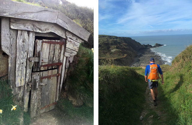 Cornwall Coast Path Hut