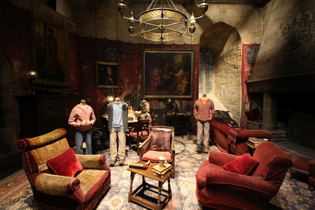 Harry Potter Studio Common Room
