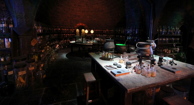 Harry Potter Studio Magic Potion Class