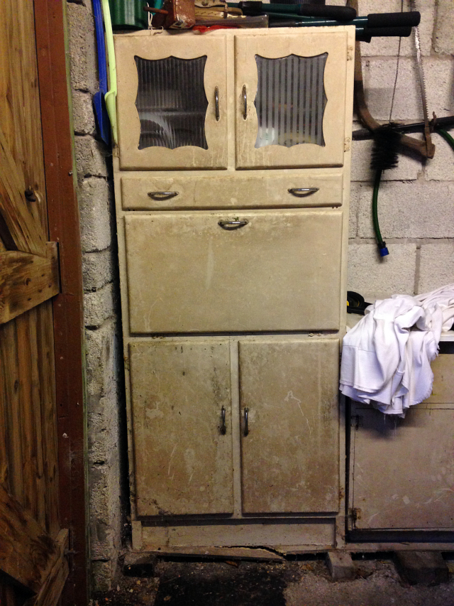My Vintage 50s or 60s Kitchen Larder Unit or Pantry Renovation Part 3