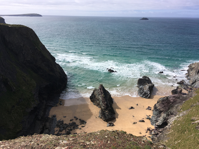 Secret Beach Cornwall