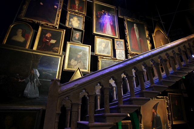 Stairways Harry Potter Studio