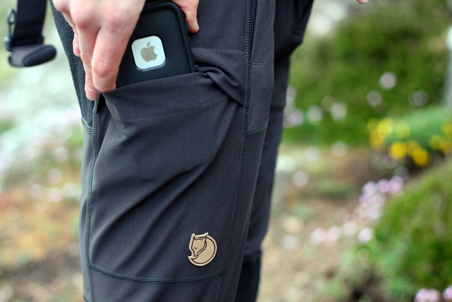 Fjallraven Mens Tights Pockets Abisko