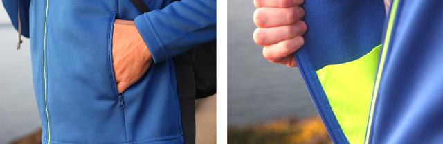Helly Hansen HP Fleece Jacket Pockets