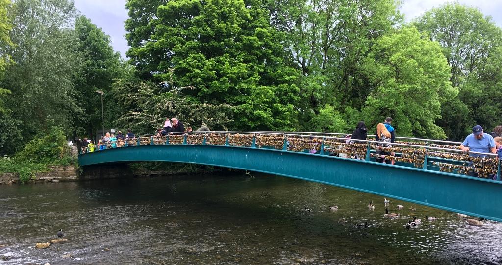 Bakewell Padlock Bridge