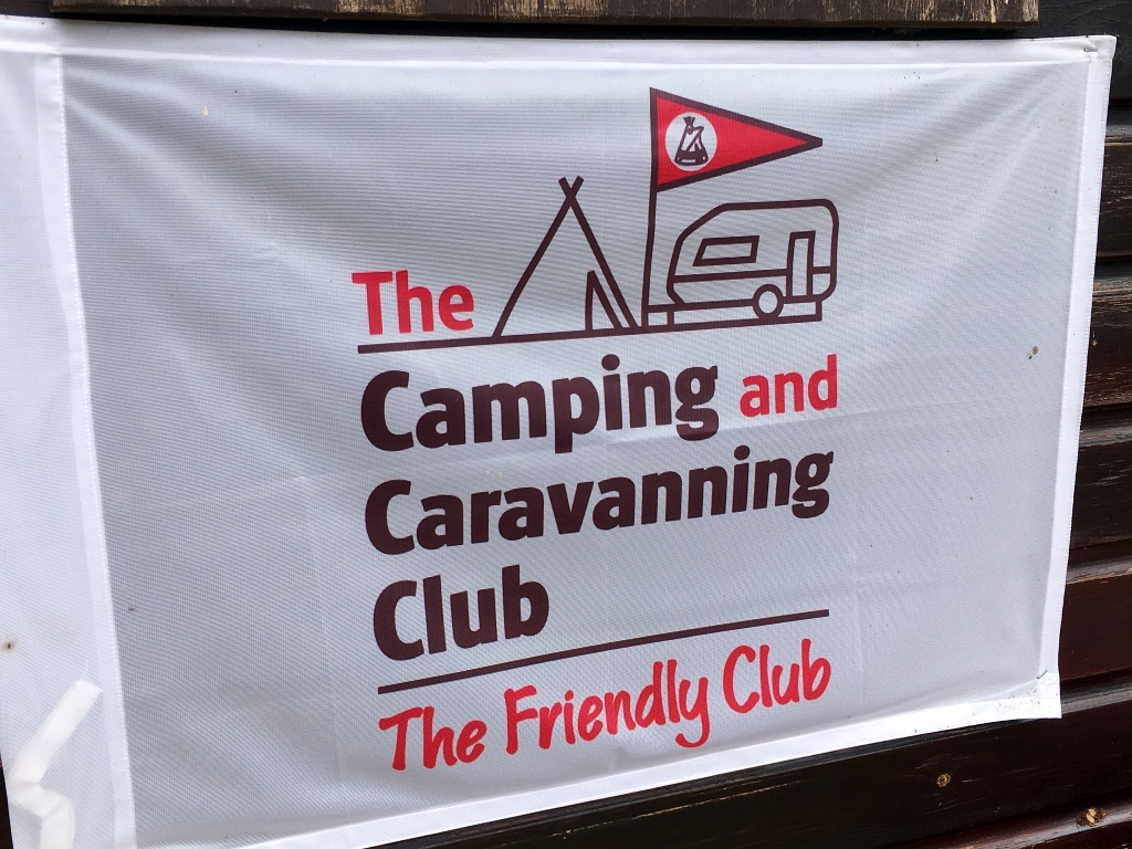 Camping and Caravanning Club Flag