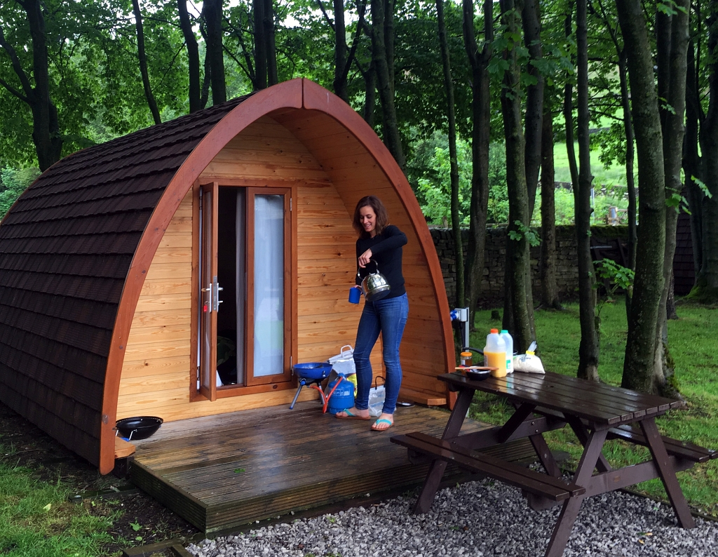 Camping and Caravanning Club Pods Crowden