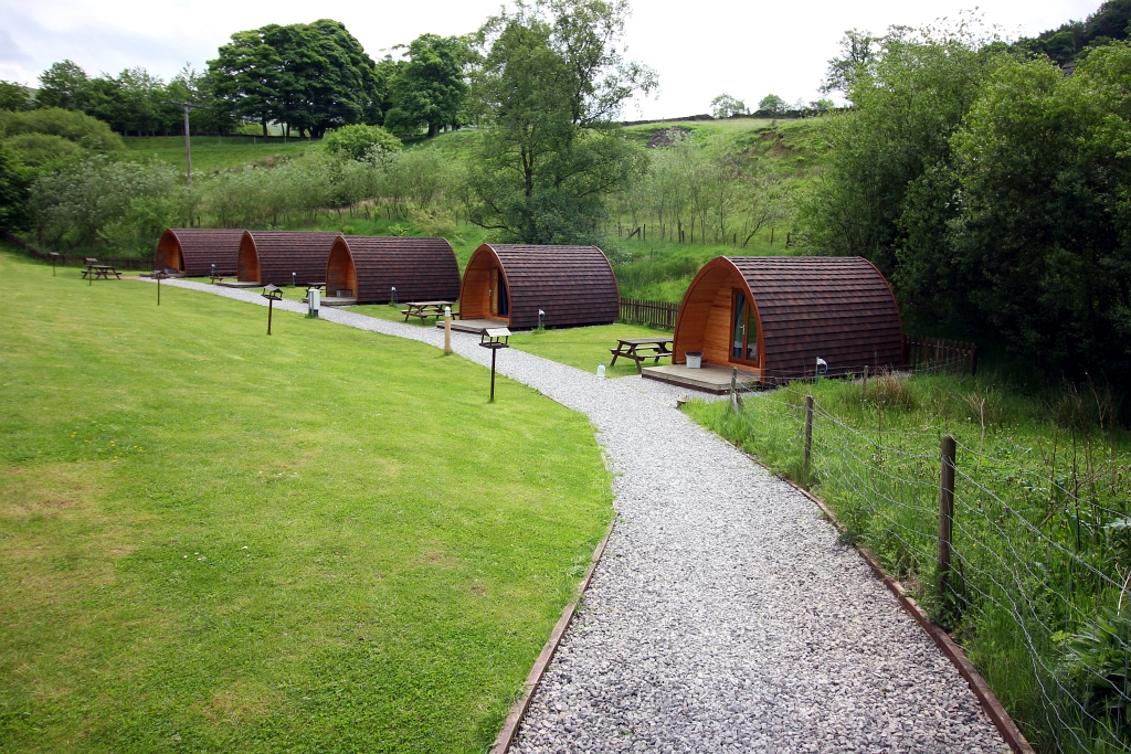 Camping and Caravanning Club Pods Hayfield